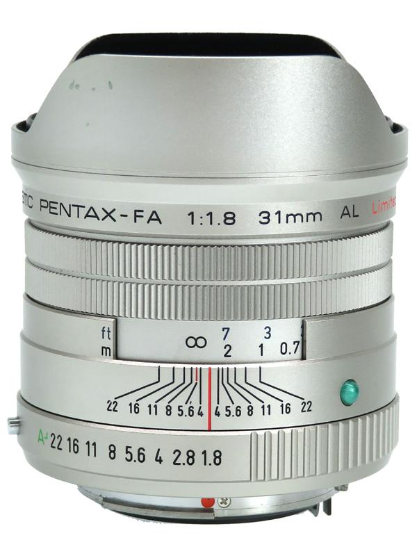【PENTAX】ペンタックス『smc PENTAX-FA 31mmF1.8AL Limited』シルバー 一眼レフカメラ用レンズ 1週間保証【中古】b02e/h03AB
