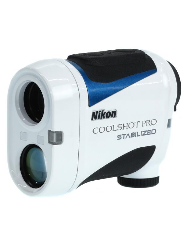 【Nikon】ニコン『COOLSHOT PRO STABILIZED』手ブレ補正 ゴルフ用レーザー距離計 1週間保証【中古】b02e/h04AB
