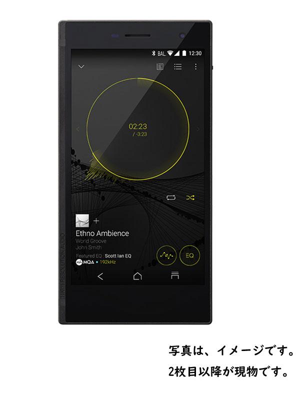 【ONKYO】オンキョー『GRANBEAT 128GB SIMフリー ブラック』DP-CMX1 2017年2月発売 スマートフォン 1週間保証【中古】b03e/h12A