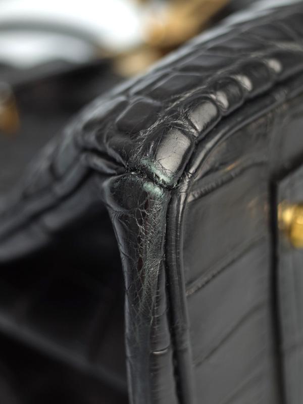ノーブランド クロコダイル ハンドバッグ レディース 1週間保証b06b h18ABOkuPZiX