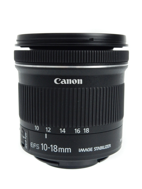【Canon】キヤノン『EF-S10-18mm F4.5-5.6 IS STM』EF-S10-18ISSTM レンズ 1週間保証【中古】b02e/h19A