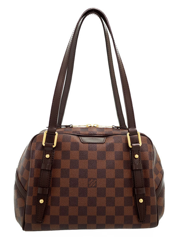 【LOUIS VUITTON】ルイヴィトン『ダミエ リヴィントンPM』N41157 レディース ショルダーバッグ 1週間保証【中古】b03b/h20A