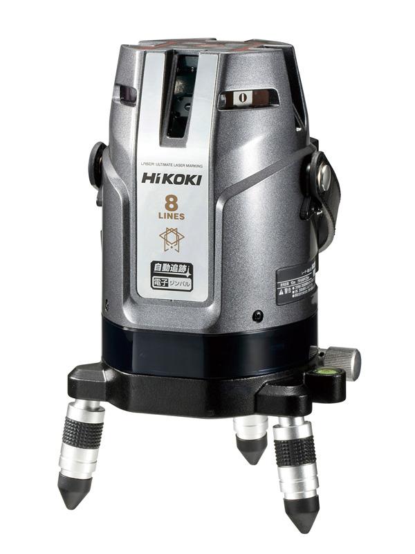 【HiKOKI】日立工機『レーザー墨出し器』UG25MBCY2 自動追跡 全方位ライン照射モデル 電子ジンバル式 受光器付 1週間保証【新品】b00t/b00N