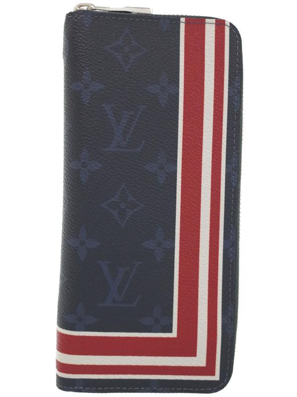 【LOUIS VUITTON】ルイヴィトン『モノグラム コバルト ジッピーウォレット ヴェルティカル』M61678 メンズ ラウンドファスナー長財布 1週間保証【中古】b01b/h17A
