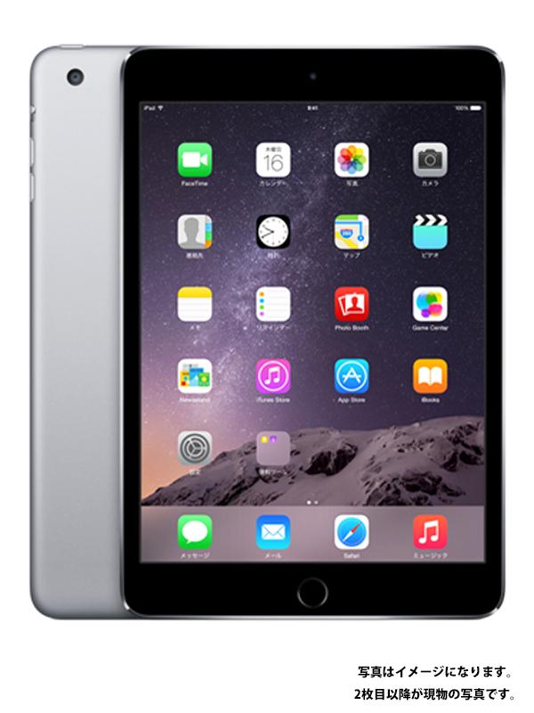 【Apple】【SoftBankのみ】アップル『iPad mini 3 Wi-Fi + Cellular 16GB』MGHV2J/A タブレット型端末 1週間保証【中古】b02e/h19AB