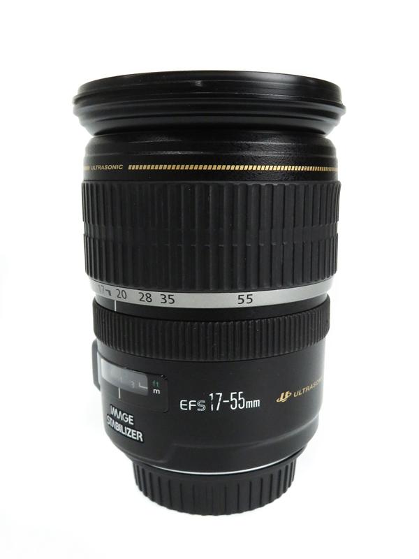 【Canon】キヤノン『EF-S17-55mm F2.8 IS USM』EF-S17-55IS 27-88mm相当 デジタル一眼レフカメラ用レンズ 1週間保証【中古】b03e/h06AB