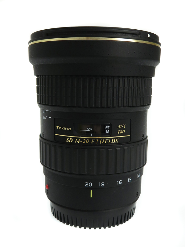 【Tokina】トキナー『AT-X 14-20 F2(1F) PRO DX』キヤノン用 一眼レフカメラ用レンズ 1週間保証【中古】b03e/h06AB