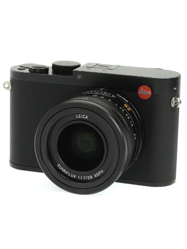 【Leica】ライカ『LEICA Q(Typ116)』19000 ブラック 28mmF1.7 2420万画素 SDXC フルHD動画 コンパクトデジタルカメラ 1週間保証【中古】b03e/h14B
