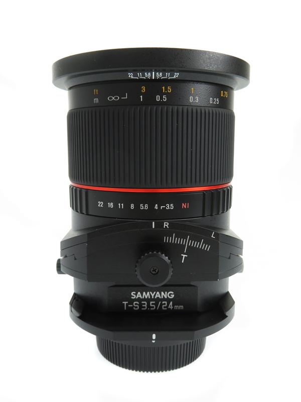 【SAMYANG】サムヤン『TS-24mm f/3.5 ED AS UMC』レンズ 1週間保証【中古】b03e/h03A