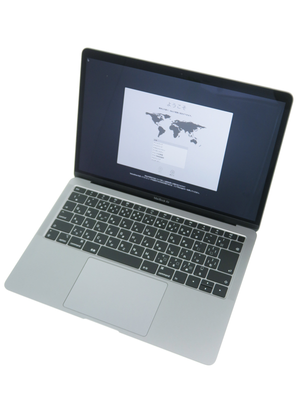 【Apple】アップル『MacBook Air 1600/13.3 スペースグレイ』MRE92J/A Late 2018 ノートパソコン 1週間保証【中古】b02e/h02AB