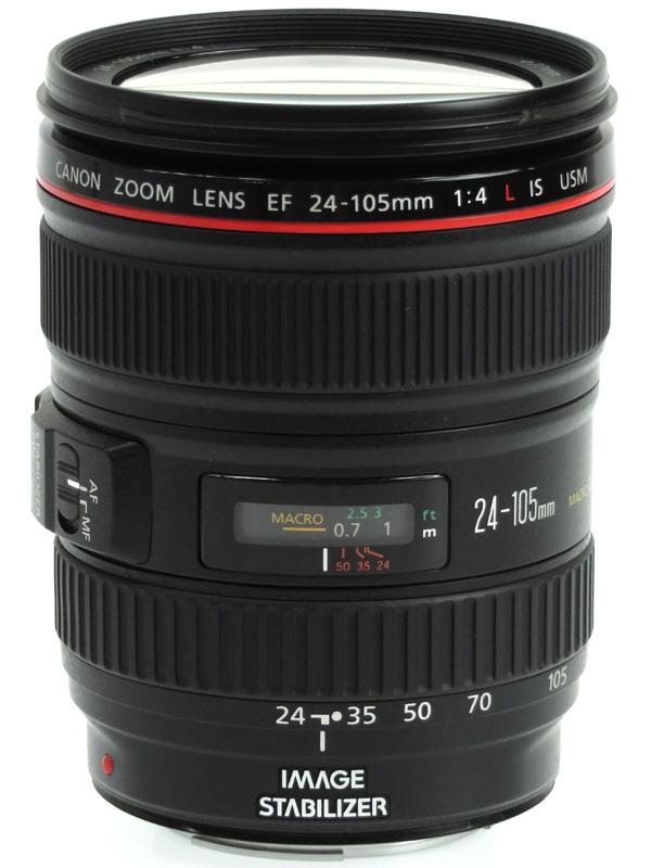 【Canon】キヤノン『EF24-105mm F4L IS USM』EF24-10540LIS 非球面 標準ズーム 一眼レフカメラ用レンズ 1週間保証【中古】b03e/h11AB