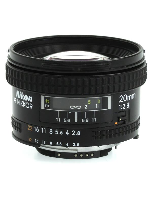 【Nikon】ニコン『AI AF Nikkor 20mm f/2.8D』一眼レフカメラ用レンズ 1週間保証【中古】b03e/h08B