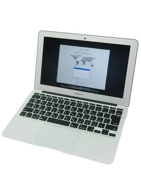 【Apple】アップル『MacBook Air 1600/11.6』MJVM2J/A Early 2015 ノートパソコン 1週間保証【中古】b03e/h20AB