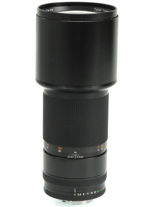 【CONTAX】コンタックス『Tele-Tessar T* 300mm F4 MMJ』カールツァイス 一眼レフカメラ用レンズ 1週間保証【中古】b03e/h11B