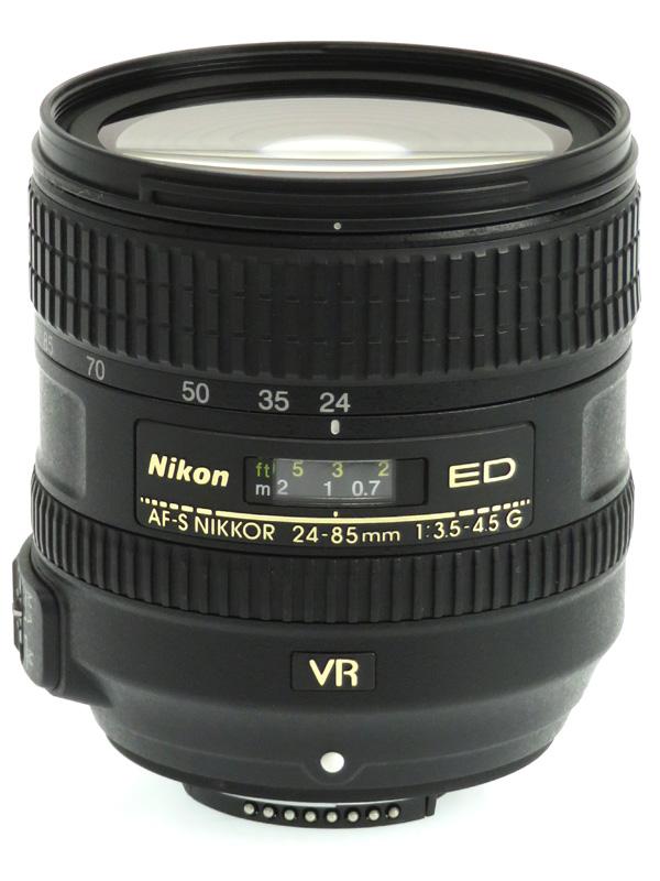 【Nikon】ニコン『AF-S NIKKOR 24-85mm f/3.5-4.5G ED VR』FXフォーマット デジタル一眼レフカメラ用レンズ 1週間保証【中古】b03e/h20AB
