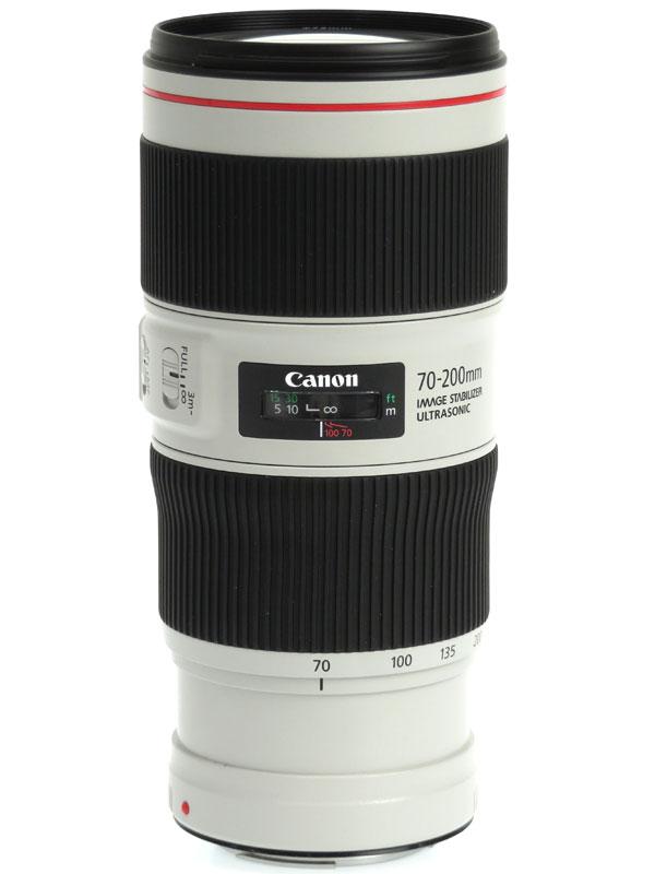 【Canon】キヤノン『EF70-200mm F4L IS II USM』EF70-20040LIS2 望遠ズーム 手ブレ補正 一眼レフカメラ用レンズ 1週間保証【中古】b03e/h03AB