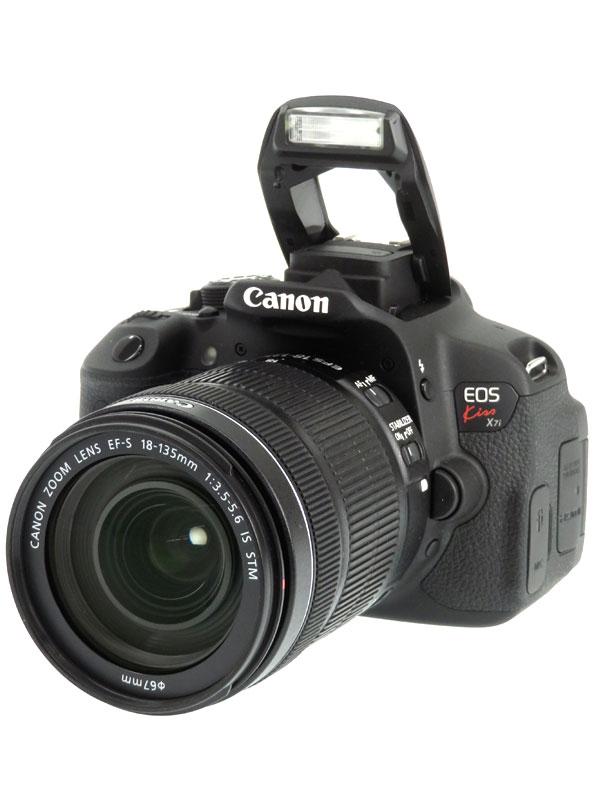 【Canon】キヤノン『EOS Kiss X7i EF-S 18-135 IS STMレンズキット』1800万画素 SDXC フルHD動画 デジタル一眼レフカメラ 1週間保証【中古】b03e/h06AB