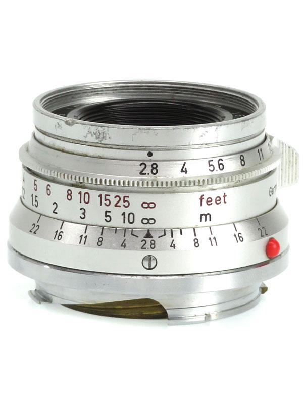 【Leica】ライカ『ズマロン35mmF2.8』Mマウント レンジファインダーカメラ用レンズ 1週間保証【中古】b03e/h08B
