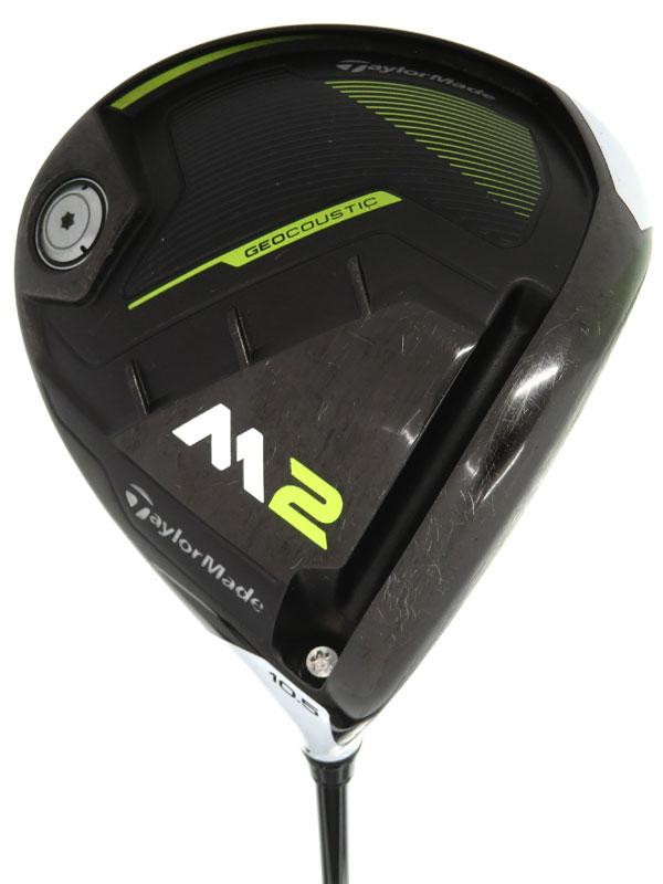 【TaylorMade Golf】テーラーメイドゴルフ『M2 ドライバー 10.5° TM1-217 フレックスS』右利き ゴルフクラブ 1週間保証【中古】b05e/h22AB