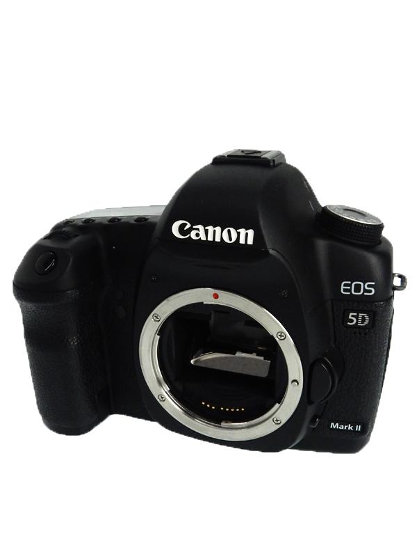 【Canon】キヤノン『EOS 5D MarkII ボディ』約2110万画素 ISO100-6400 デジタル一眼レフカメラ 1週間保証【中古】b03e/h20B
