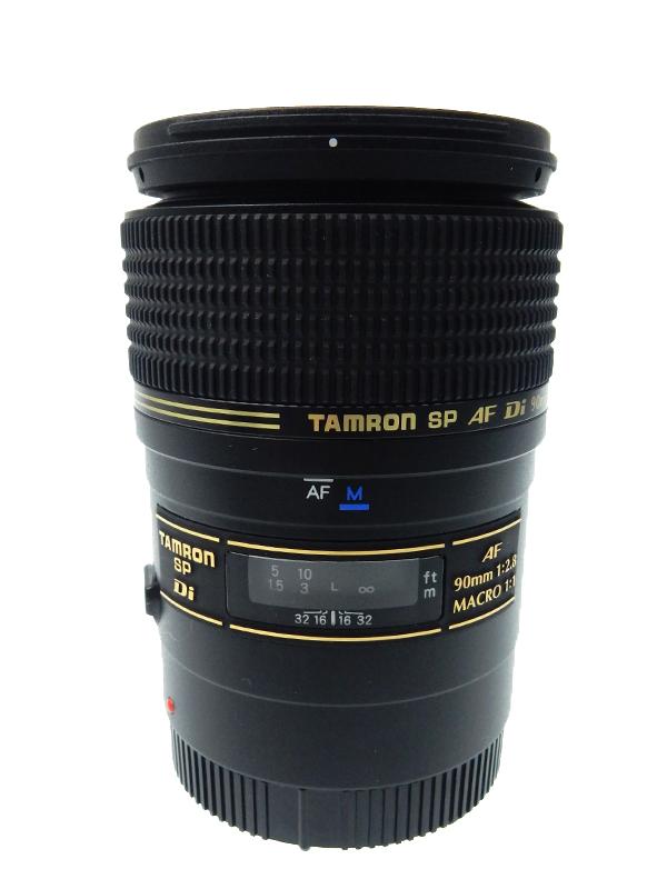 【TAMRON】【キヤノン用】タムロン『SP AF90mmF/2.8 Di MACRO1:1』272E レンズ 1週間保証【中古】b03e/h20AB