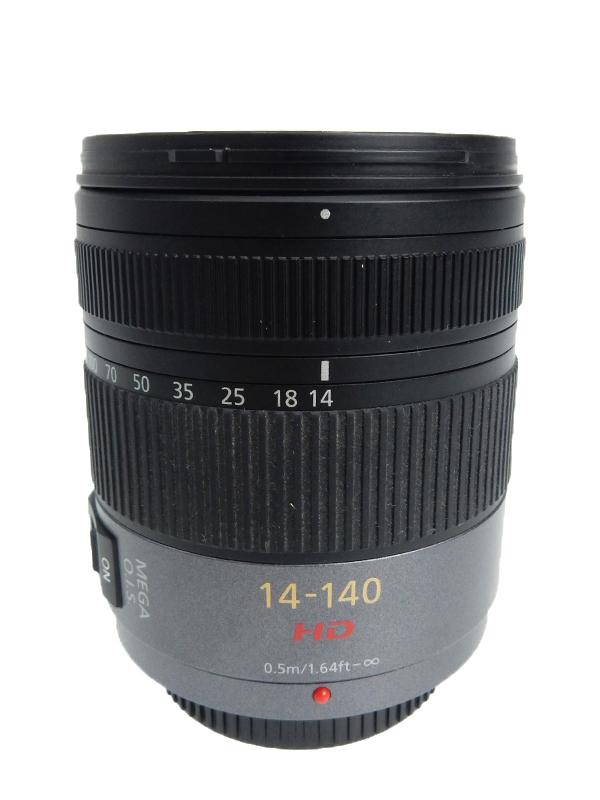 【Panasonic】パナソニック『LUMIX G VARIO HD 14-140mmF4.0-5.8 ASPH. MEGA O.I.S.』H-VS014140 28mm-280mm相当 ミラーレス一眼用レンズ 1週間保証【中古】b05e/h02AB