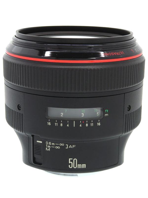 【Canon】キヤノン『EF50mm F1.0L USM』標準 単焦点 一眼レフカメラ用レンズ 1週間保証【中古】b03e/h20AB