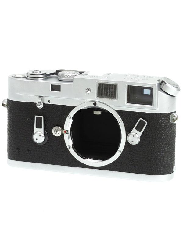 【Leica】ライカ『LEICA M4』シルバー 35mmフィルム Mマウント レンジファインダーカメラ 1週間保証【中古】b03e/h20B
