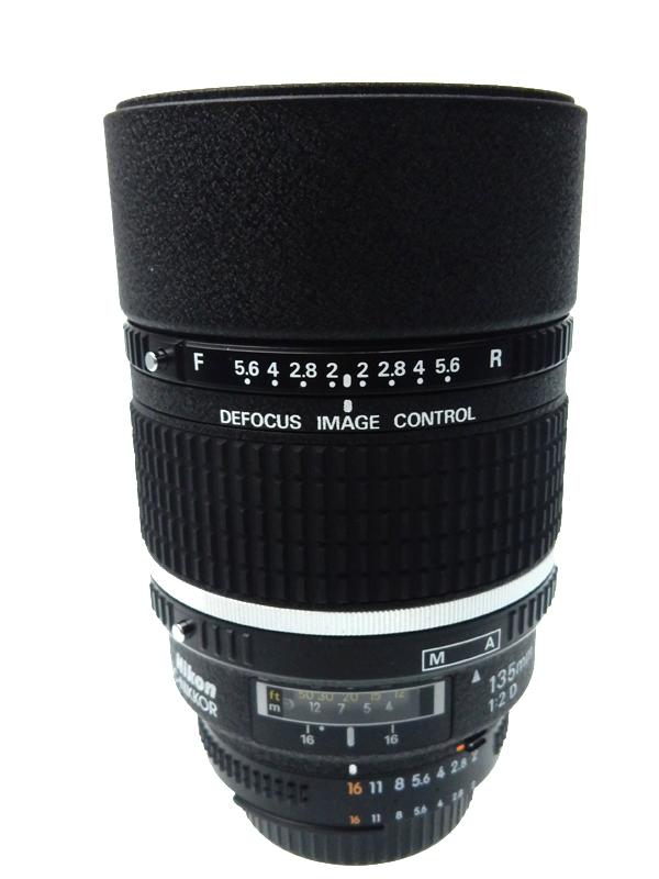 【Nikon】ニコン『AI AF DC-Nikkor 135mm f/2D』FXフォーマット 中望遠 一眼レフカメラ用レンズ 1週間保証【中古】b03e/h13AB