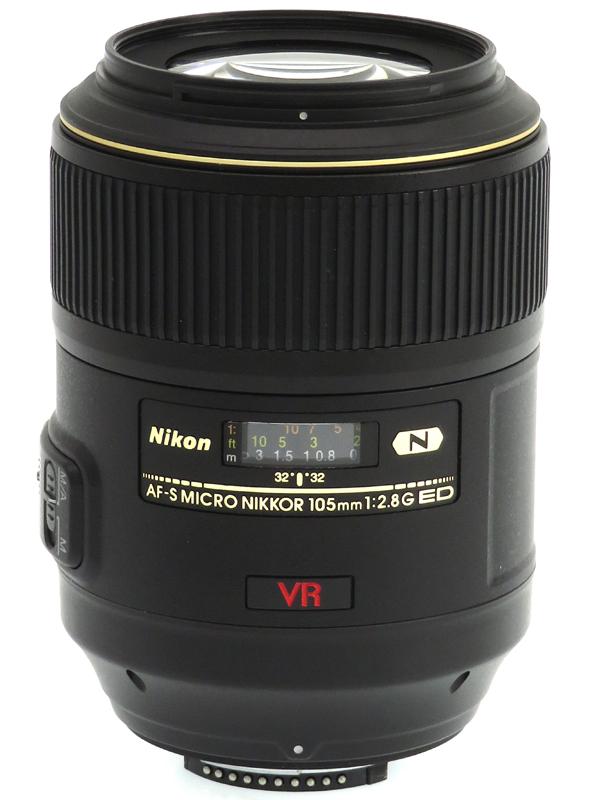 【Nikon】ニコン『AF-S VR Micro-Nikkor 105mm f/2.8G IF-ED』望遠マイクロ デジタル一眼レフカメラ用レンズ 1週間保証【中古】b03e/h20AB