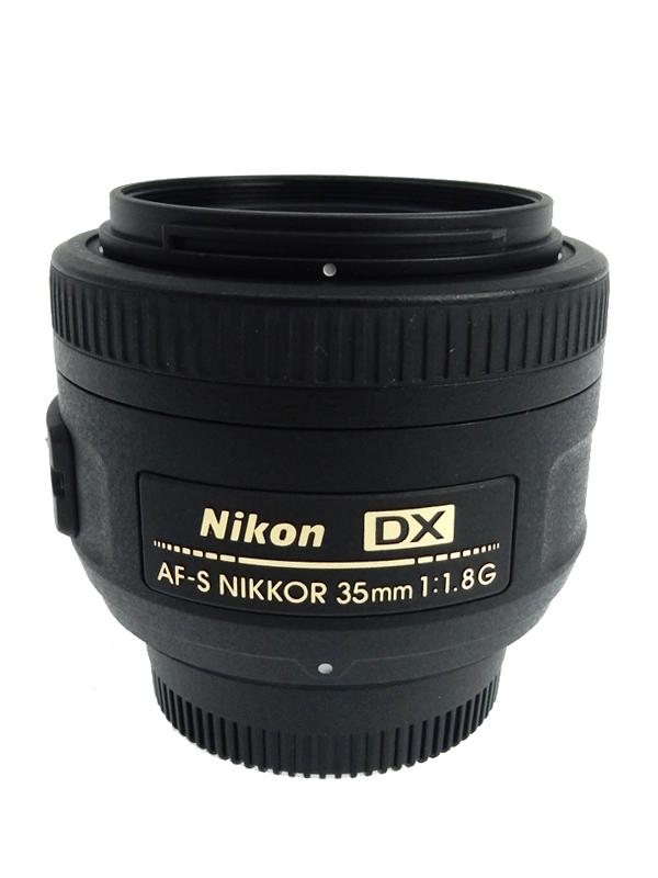 【Nikon】ニコン『AF-S DX NIKKOR 35mm f/1.8G』52.5mm相当 デジタル一眼レフカメラ用レンズ 1週間保証【中古】b03e/h06AB