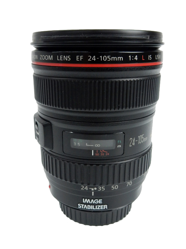 【Canon】キヤノン『EF24-105mm F4L IS USM』EF24-10540LIS 非球面 標準ズーム 一眼レフカメラ用レンズ 1週間保証【中古】b03e/h07AB