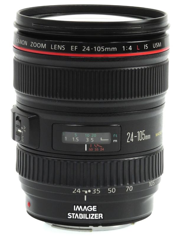 【Canon】キヤノン『EF24-105mm F4L IS USM』EF24-10540LIS 非球面 標準ズーム 一眼レフカメラ用レンズ 1週間保証【中古】b03e/h15B