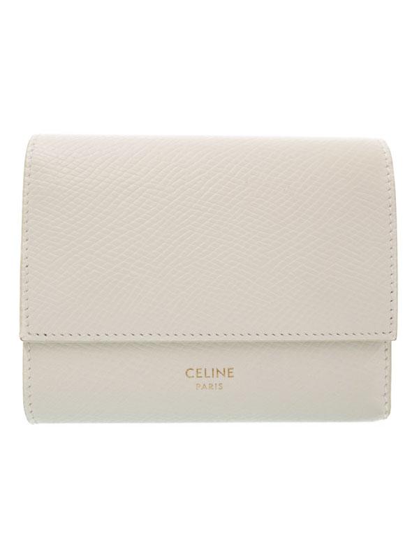 CELINE セリーヌ 三つ折り短財布 104903 レディース 1週間保証b02b h14ABWEI9H2D