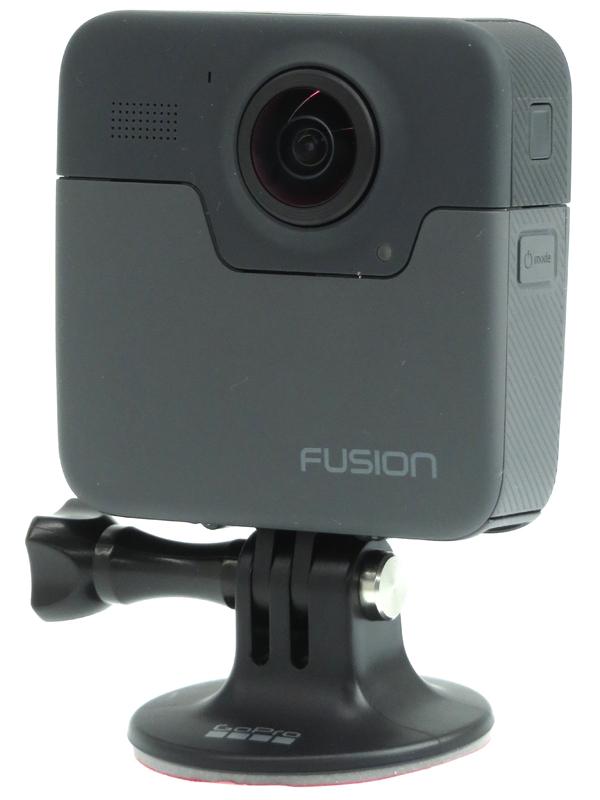 【GoPro】ゴープロ『Fusion』CHDHZ-103-FW 5.2K 360° 防水 microSDXC ウェアラブルカメラ 1週間保証【中古】b03e/h20AB
