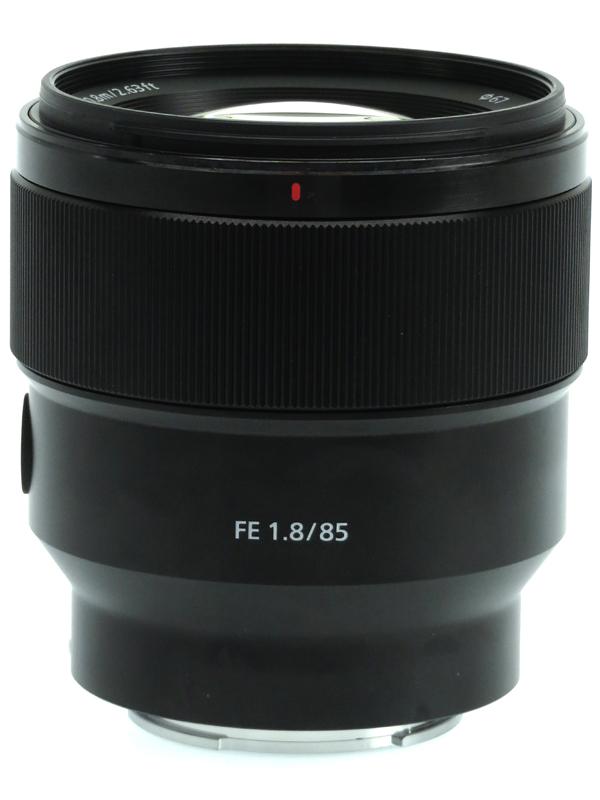 【SONY】ソニー『FE 85mm F1.8』SEL85F18 Eマウント フルサイズ対応 中望遠 デジタル一眼カメラ用レンズ 1週間保証【中古】b03e/h08AB