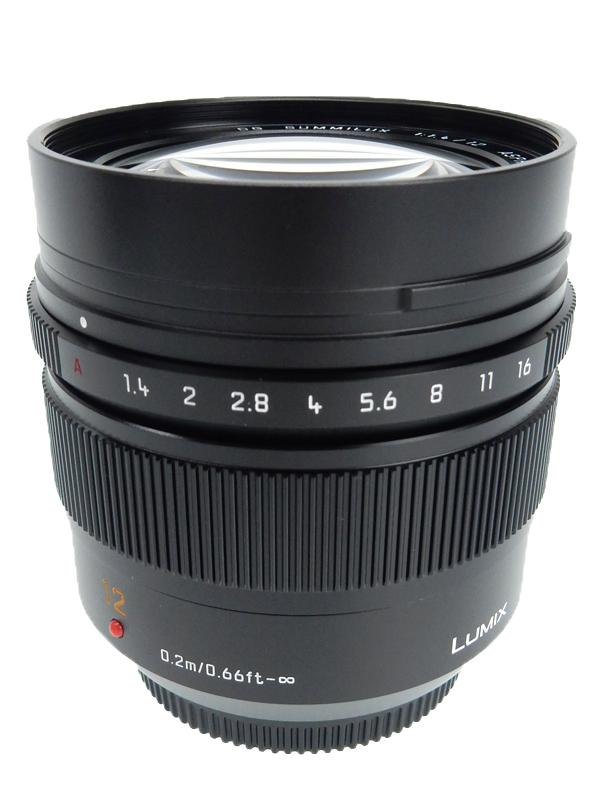 【Panasonic】パナソニック『LUMIX G LEICA DG SUMMILUX 12mm F1.4 ASPH.』H-X012 マイクロフォーサーズマウント 単焦点 防塵 防滴 レンズ 1週間保証【中古】b03e/h11A