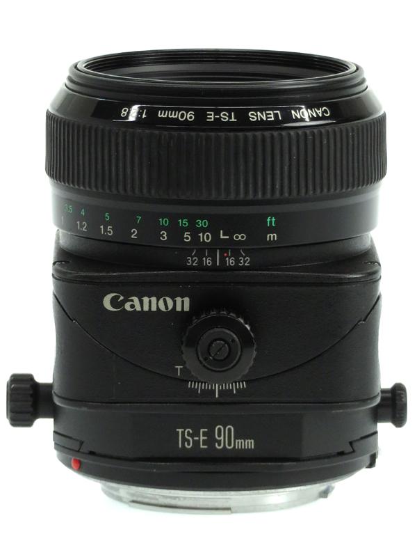 【Canon】キヤノン『TS-E90mm F2.8』TS-E9028 アオリ撮影 中望遠 マニュアルフォーカス EFマウント 一眼レフカメラ用レンズ 1週間保証【中古】b03e/h20B