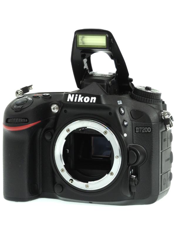 【Nikon】ニコン『D7200 ボディ』2416万画素 DXフォーマット Wi-Fi SDXC フルHD動画 デジタル一眼レフカメラ 1週間保証【中古】b03e/h07AB