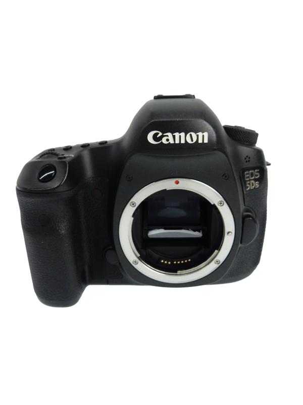 キヤノン『EOS 5Ds ボディー』EOS5DS 5060万画素 フルサイズ 61測距点 デジタル一眼レフカメラ【中古】b03e/h15AB