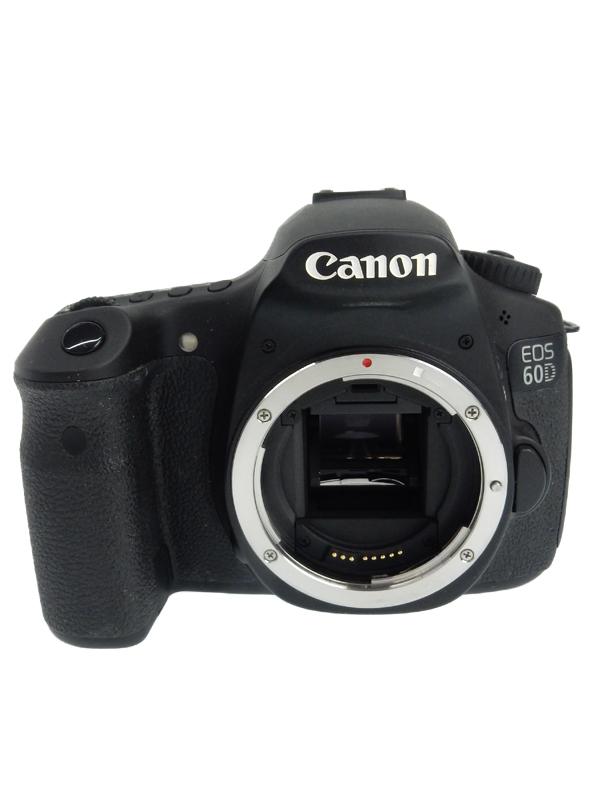 【Canon】キヤノン『EOS 60Dボディ』1800万画素 EF-S SDXC フルHD動画 デジタル一眼レフカメラ 1週間保証【中古】b03e/h12AB