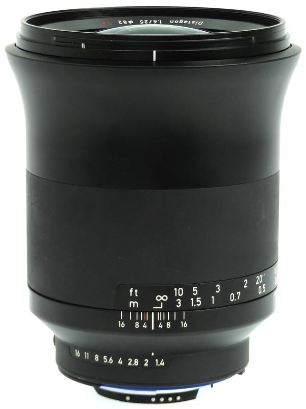 【Carl Zeiss】カールツァイス『ZEISS Milvus 1.4/25 ZF.2』ニコンFマウント 25mmF1.4 マニュアルフォーカス 一眼レフカメラ用レンズ 1週間保証【中古】b06e/h16AB
