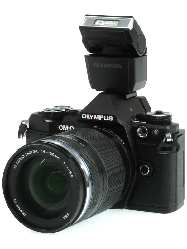 【OLYMPUS】オリンパス『OLYMPUS OM-D E-M5 Mark II 14-150mm II レンズキット』ブラック 1605万画素 SDXC フルHD動画 ミラーレス一眼カメラ 1週間保証【中古】b03e/h11AB