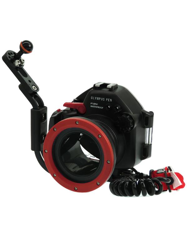 【OLYMPUS】オリンパス『防水プロテクター』PT-EP01 E-PL1専用 カメラアクセサリー 1週間保証【中古】b03e/h15AB