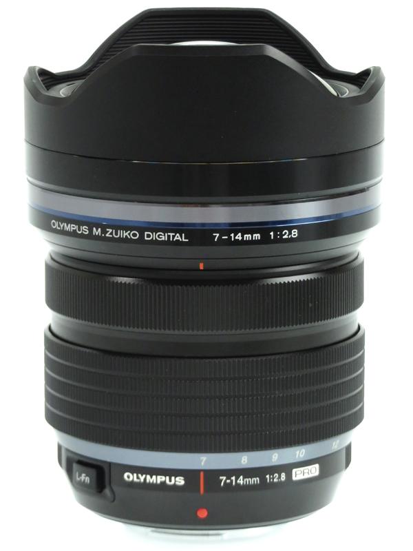 【OLYMPUS】オリンパス『M.ZUIKO DIGITAL ED 7-14mm F2.8 PRO』14-28mm相当 デジタル一眼カメラ用レンズ 1週間保証【中古】b03e/h06AB