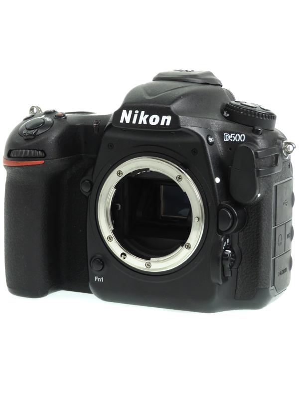 【Nikon】ニコン『D500 ボディ』2088万画素 DXフォーマット ISO51200 Wi-Fi XQD/SDXC 4K動画 デジタル一眼レフカメラ 1週間保証【中古】b05e/h02AB