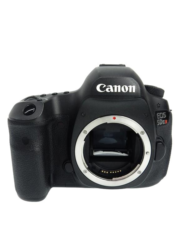 【Canon】キヤノン『EOS 5Ds R ボディー』EOS5DSR 5060万画素 CMOSセンサー搭載 EF デジタル一眼レフカメラ【中古】b03e/h15B