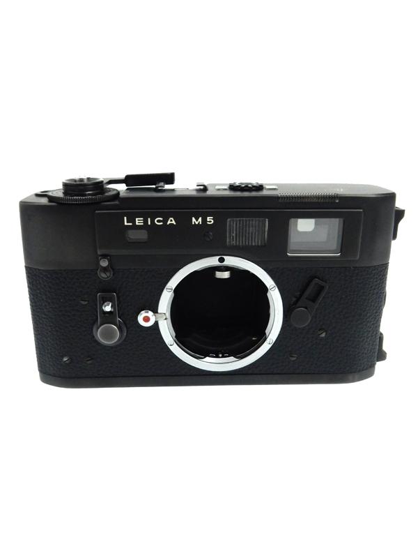 【Leica】ライカ『LEICA M5』露出計内蔵 M型ライカ 大型ボディ レンジファインダーカメラ 1週間保証【中古】b03e/h20B