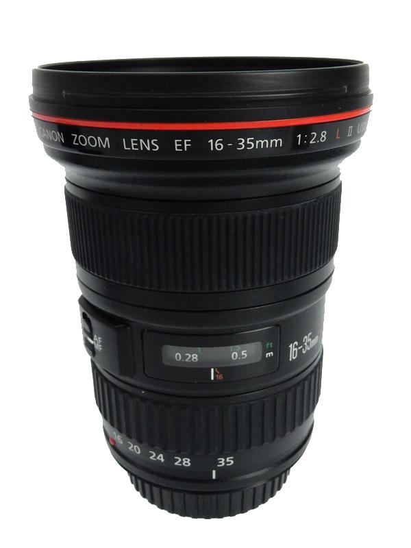 【Canon】キヤノン『EF16-35mm F2.8L II USM』EF16-35L2 リングUSM インナーフォーカス 防塵・防滴構造 レンズ 1週間保証【中古】b03e/h20AB