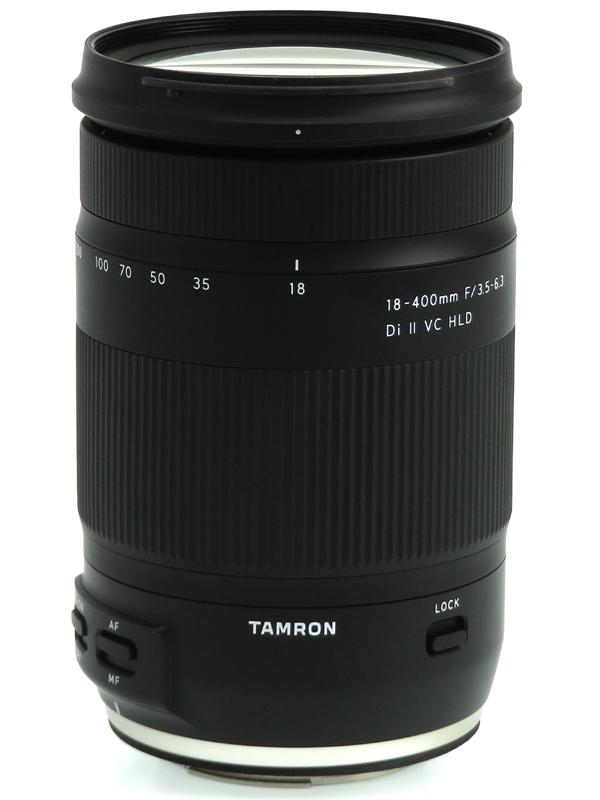 【TAMRON】タムロン『18-400mm F/3.5-6.3 Di II VC HLD』B028E キヤノンEF-S 28-620mm相当 デジタル一眼レフカメラ用レンズ 1週間保証【中古】b03e/h03AB